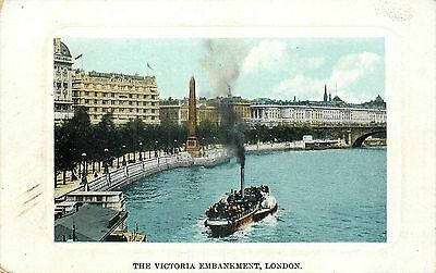 ANGLETERRE the victoria embankment london