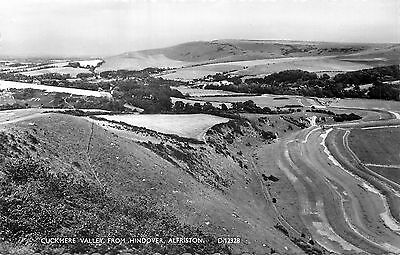 ANGLETERRE cuckmere valley from hindover alfriston