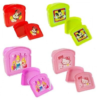 Brotdose Luchbox Kindergarten * Disney Princess Minnie Mickey Mouse Hello Kitty