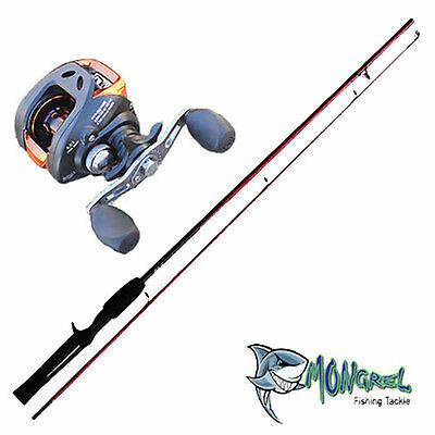 NEW Baitcaster Rod & Reel Combo 1.7M rod, Bait Caster, great for kayak fishing