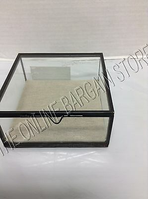 Pottery Barn Wall Hanging Shadow Box Picture Photo Collector Frame 5x5