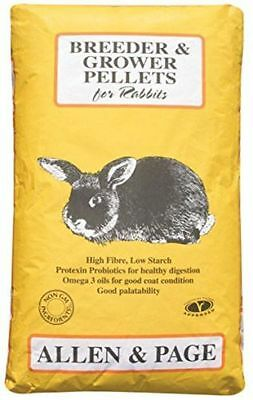 Allen & Page Rabbit Breeder Grower Pellets - Rabbit Food 20kg Bag