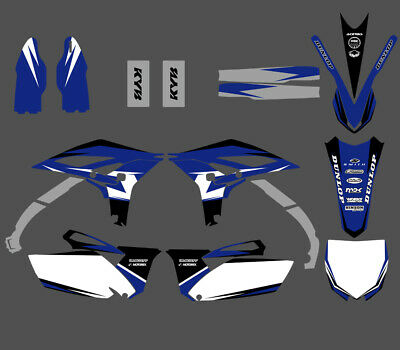 Team Graphics Decals Stickers For Yamaha Yz250F Yzf250 2010 2011 2012 2013 Blue