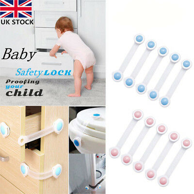 Toddler Baby Kids Drawer Cupboard Cabinet Fridge Door Protection Safety Lock