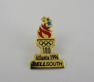 Olympics Atlanta Vintage 1996 Bell South Collectible USA Olympic Hat Lapel Pin