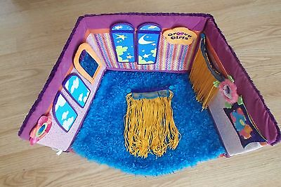 Groovy Girls Lush Loft Reversible Room with Accessories HUGE LOT