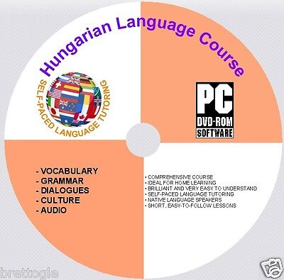 LEARN Hungarian LANGUAGE COURSE Hungarian COURSE ON DVD