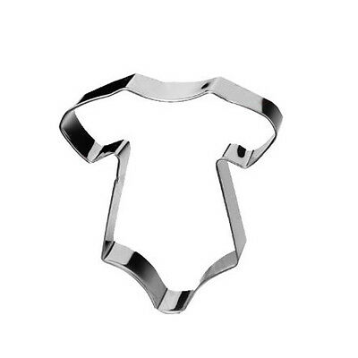 Baby Onesie Cookie Cutter Cut Outs Mold For Party New