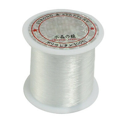 0.2mm Diameter Clear Nylon Fish Fishing Line Spool Beading StRing New