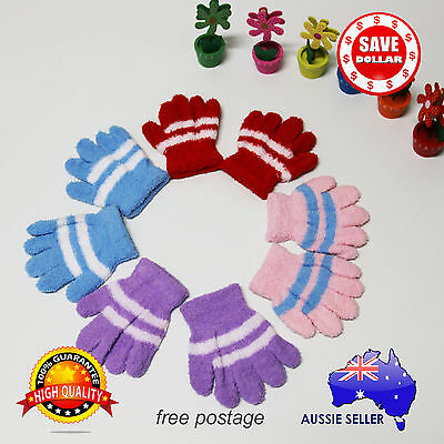 [SALE]Kids Toddler Winter 12cm Gloves  Boy Girl Full Finger Mittens Warm Gloves
