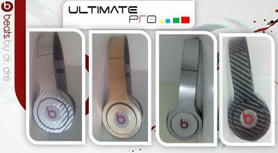Sticker decal skin vinyl design compatible with Beats by Dr Dre solo Carbon part
