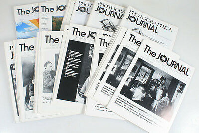 The Journal, New England Journal Of Photo History, Lot Of 29