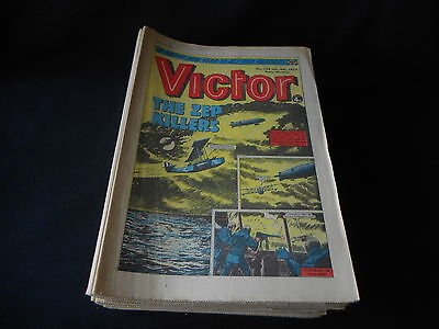 The Victor comics 1975 Full Year. A Good set