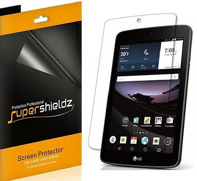 3X SuperShieldz Clear Screen Protector Saver Cover for LG G Pad F7.0 (Sprint)
