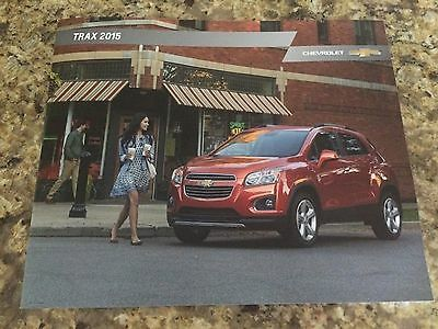 2015 Chevy Trax 26-page Original Sales Brochure