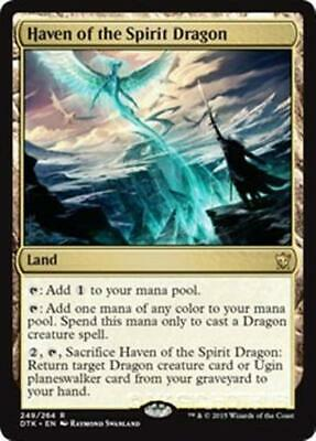 HAVEN OF THE SPIRIT DRAGON Dragons of Tarkir MTG Land Rare
