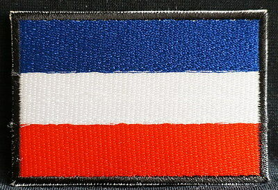 "NETHERLAND EMBLEM PATCH SEW ON EASY TO USE 2""x3"""