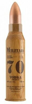 Debowa Military Bullet Shape Premium Polish Oak Vodka 700ml