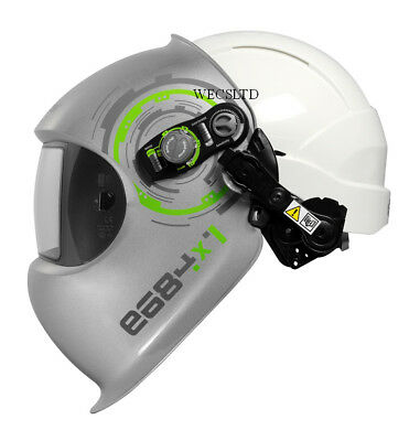 Optrel e684 Welding Helmet With e3000 Respirator System And Safety Hard Hat