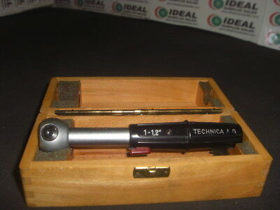 TECHNICA 1to12INCHES GAGE USED