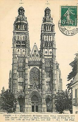 37 Tours Cathedrale St-Gatien Nd 20615