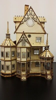 Ashley Gothic Victorian  Dollhouse Quarter Inch/ 1:48 scale Kit
