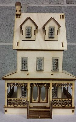 Abriana Large Country Cottage 1:48 Scale Dollhouse