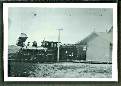 Vintage Photograph- Steam Engine, Circa Early 1900's