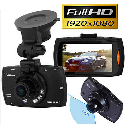 "New 1080P 2.7"" HD LCD Car Dash Camera Video DVR Cam Recorder Night Vision In UK"