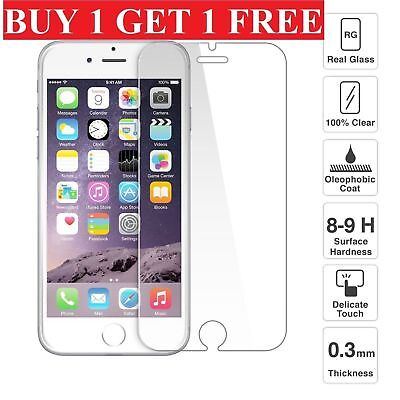 100% Genuine Tempered Glass Screen Protector For Apple iPhone 7 PLUS