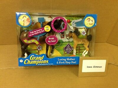 Grand Champions Loving Mother & First Step Foal Bay 53501 New Play Set