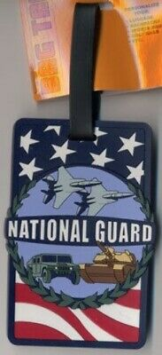 National Guard Luggage Tag Look!