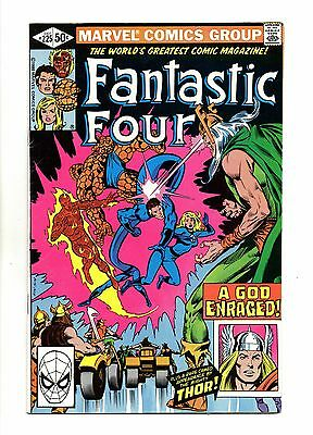 Fantastic Four Vol 1 No 225 Dec 1980 (FN+ to VFN-) Modern Age (1980 - Now)