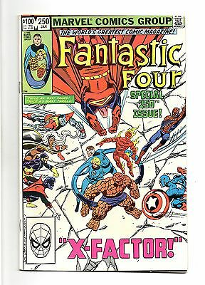 Fantastic Four Vol 1 No 250 Jan 1983 (FN+ to VFN-) Modern Age (1980 - Now)