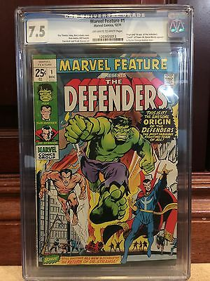 Marvel Feature #1 Cgc 7.5 Fn/vf 1St Defenders