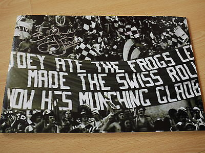 Joey Jones Signed 18x12 Liverpool FC 1977 Banner Photo - Private Signing - Proof
