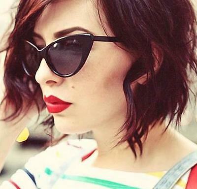 60b5641d59 LARGE CAT EYE Thin Frame Hot Pin Up Nikita Rockabilly Fashion .
