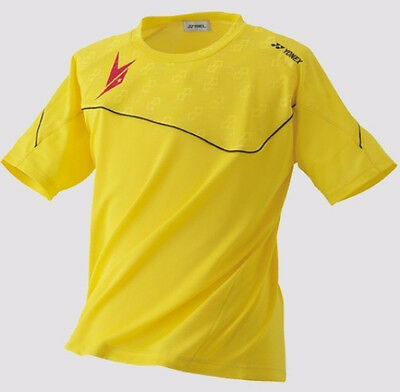 Yonex Men's  Shirt 16000LDEX Lin Dan Exclusive Ltd, Yellow