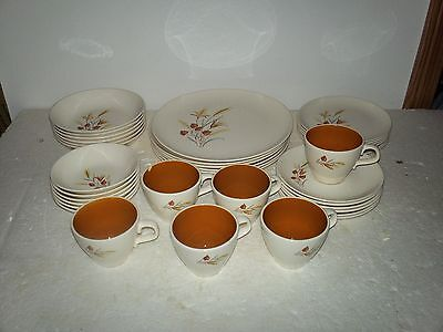 """Taylor Smith & Taylor """"Ever Yours"""" USA  Autumn Harvest 36 Pieces"""