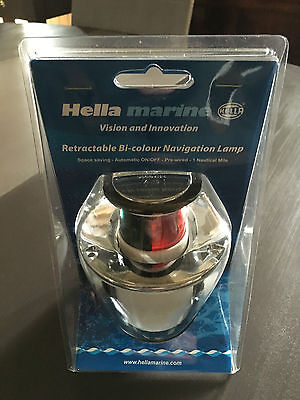 Feu de navigation retractable Naviflex 1 NM bicolore HELLA MARINE SERIE 5006
