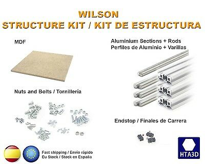 Wilson Structure Kit Estructura Reprap prusa 3d printer