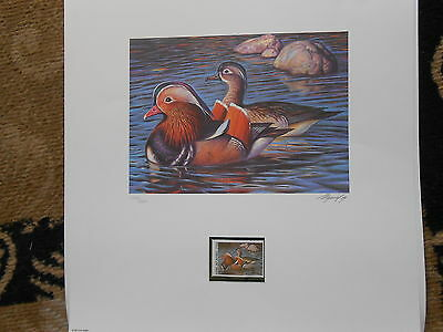 RD1 - Russia Artist Signed Duck Print.   #02 RD1
