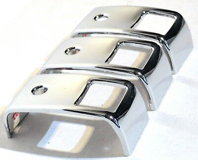 rocker switch covers(3) plain two opening for Kenworth 2006+ W900 T800 T660 C500