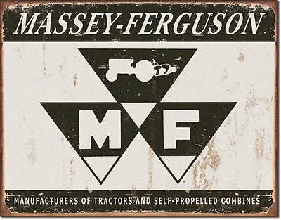Massey Ferguson Collectable Tin Metal Signs Combined Postage For 2+