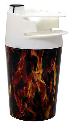 The Spittoon - (1) Cup and Moist Tobacco Tin Holder - Fire