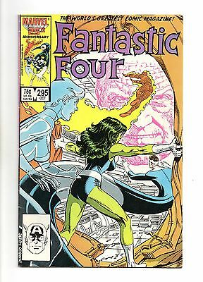 Fantastic Four Vol 1 No 295 Oct 1986 (FN+ to VFN-)Marvel,Modern Age (1980 - Now)