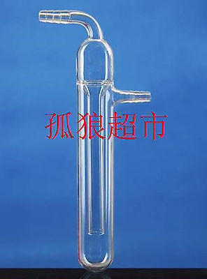 25*185mm Glass Oil Bubbler Liquid Sealing Tube Pipe Lab Glassware #J761 lx