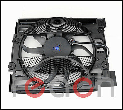 New Replacement AC Condenser Cooling Fan For BMW 5 Series E39 64546921395