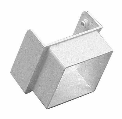 GSW Euramax T0642 WHITE CONTEMPORARY DIVERTER DOWNSPOUT GUTTER TUFFLO AMERIMAX