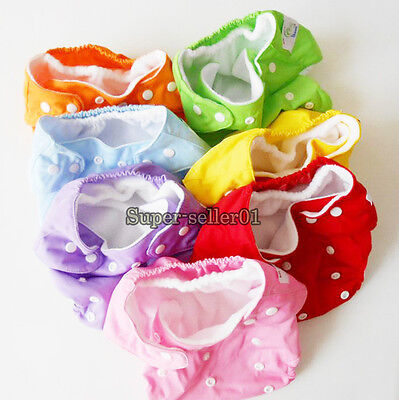 1Pcs Cotton Diapers Newborn Kid Baby Infant Comfortable Breathable Cloth Nappies